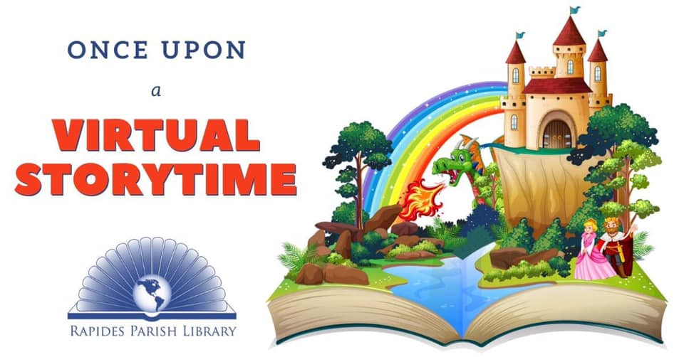 Once Upon a Virtual Storytime Image